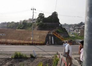 ②気仙沼 魚市場前地区(2014年7月撮影)